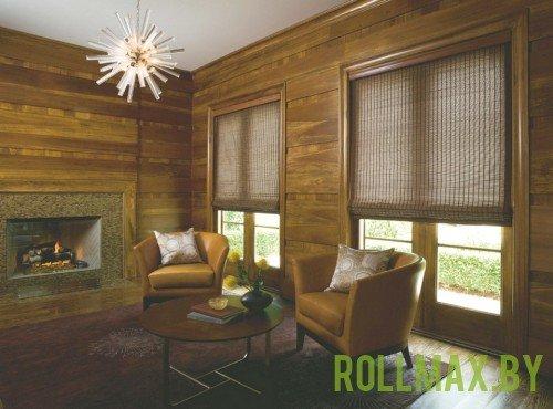 Бамбуковые римские шторы №02