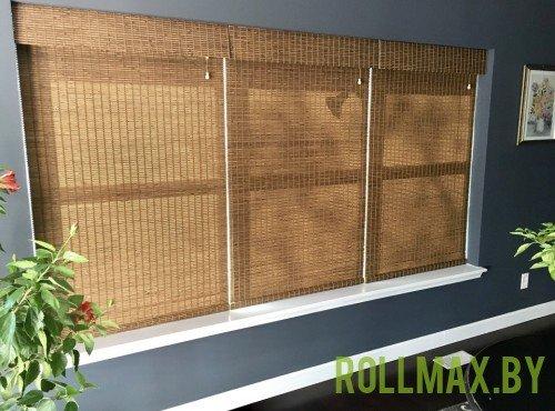 Бамбуковые римские шторы №04