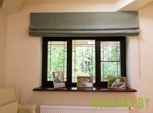 Тканевые римские шторы №08