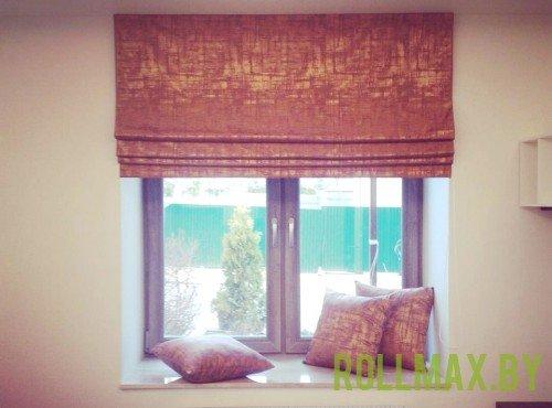 Тканевые римские шторы №09