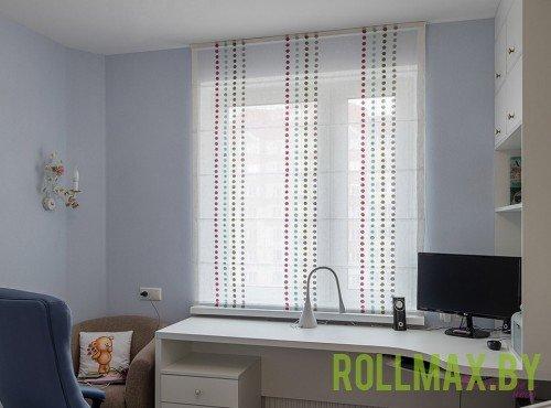 Тканевые римские шторы №10