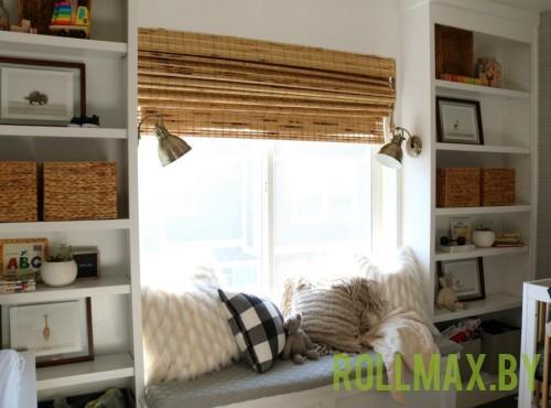 Бамбуковые римские шторы №07