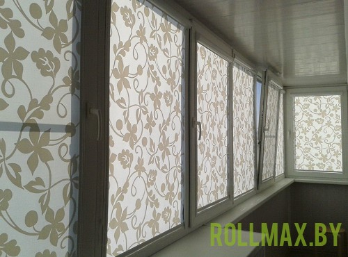 Рольшторы на балкон №04
