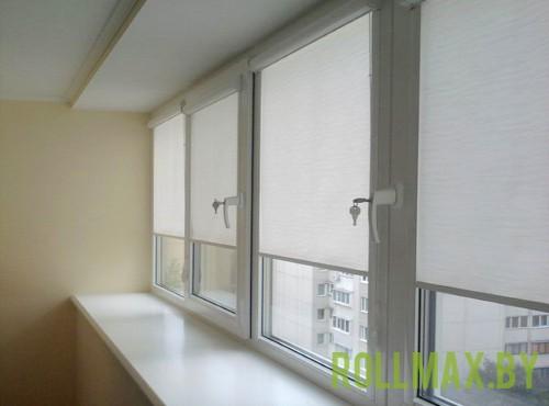 Рольшторы на балкон №05