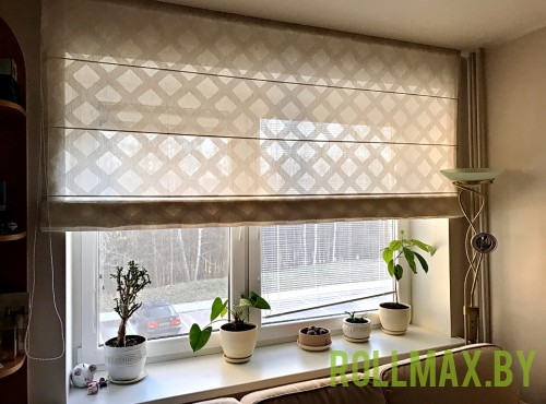 Тканевые римские шторы №20