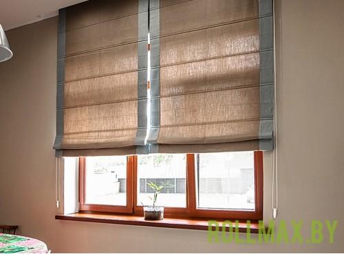 Тканевые римские шторы №21