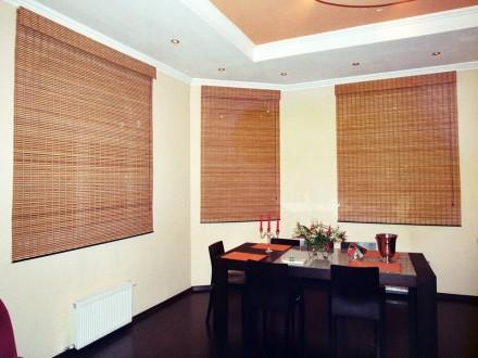 Бамбуковые римские шторы №06