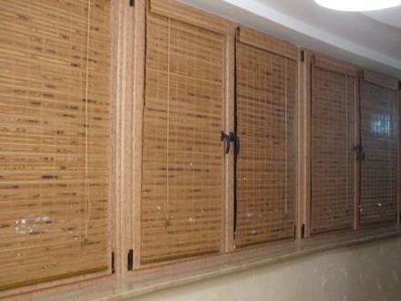 Бамбуковые римские шторы №08