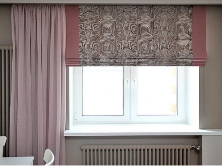 Тканевые римские шторы №11