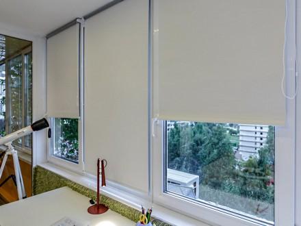 Рольшторы на балкон №02