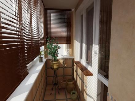 Жалюзи на балкон №05