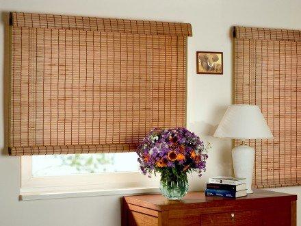 Бамбуковые римские шторы №01