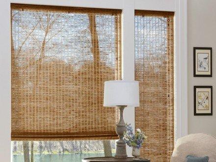 Бамбуковые римские шторы №03