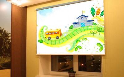 Рольшторы на заказ для детской комнаты