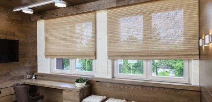 Бамбуковые шторы для интерьера