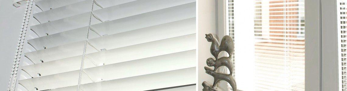 Алюминиевые жалюзи в интерьере квартиры